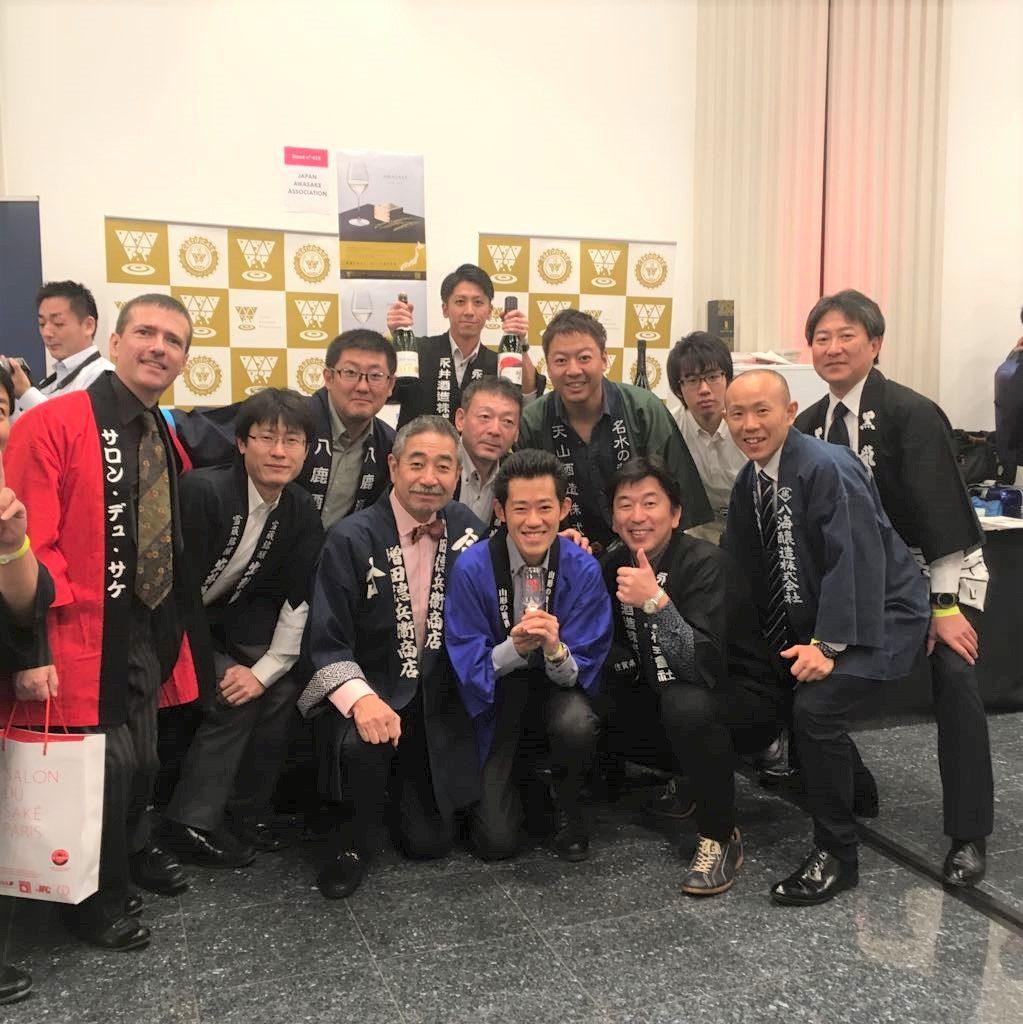 パリ開催の日本酒イベント「Salon du Sake」に出展